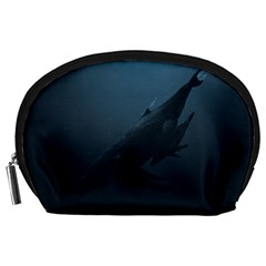 Whales Family Accessory Pouch (large) by goljakoff
