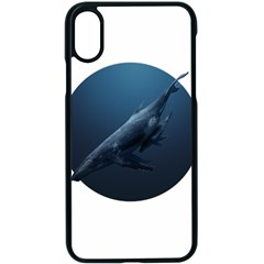 Whales Family Iphone Xs Seamless Case (black) by goljakoff