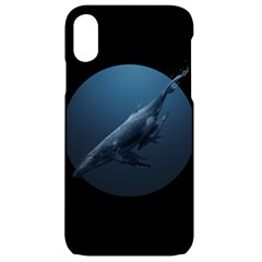 Whales Family Iphone Xr Black Uv Print Case