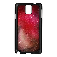 Red Space Samsung Galaxy Note 3 N9005 Case (black)