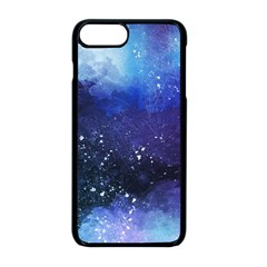Blue Space Iphone 8 Plus Seamless Case (black)