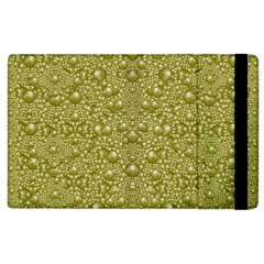 Baroque Pearls In Ornate Decorative Bohemian Style Apple Ipad 3/4 Flip Case
