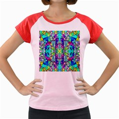 Colorful 60 Women s Cap Sleeve T-Shirt