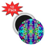 Colorful 60 1.75  Magnets (10 pack)