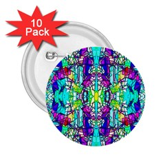 Colorful 60 2.25  Buttons (10 pack)