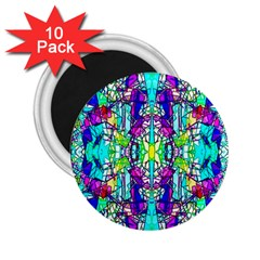 Colorful 60 2.25  Magnets (10 pack)