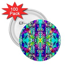 Colorful 60 2.25  Buttons (100 pack)