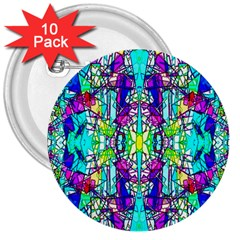 Colorful 60 3  Buttons (10 pack)