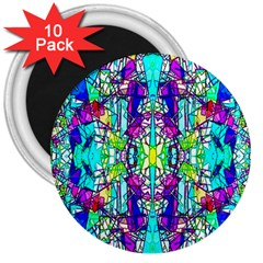Colorful 60 3  Magnets (10 pack)