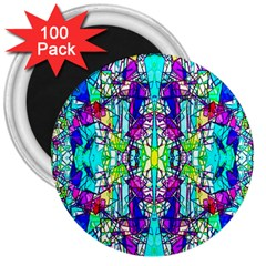 Colorful 60 3  Magnets (100 pack)