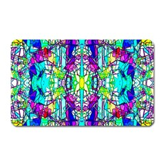 Colorful 60 Magnet (Rectangular)