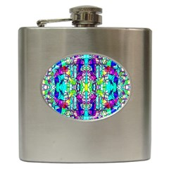 Colorful 60 Hip Flask (6 oz)