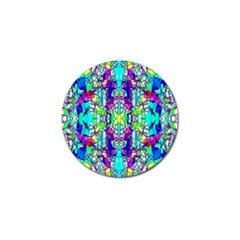 Colorful 60 Golf Ball Marker