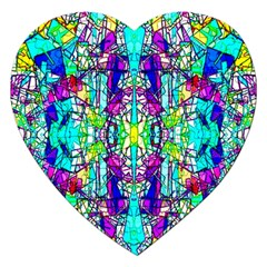 Colorful 60 Jigsaw Puzzle (Heart)