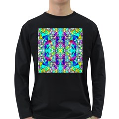 Colorful 60 Long Sleeve Dark T-Shirt