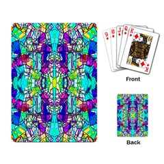 Colorful 60 Playing Cards Single Design (Rectangle)