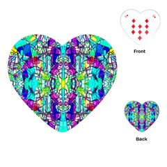 Colorful 60 Playing Cards Single Design (Heart)