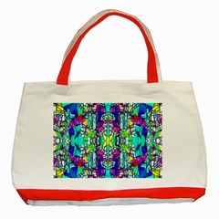Colorful 60 Classic Tote Bag (Red)