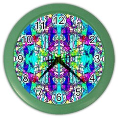 Colorful 60 Color Wall Clock