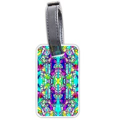 Colorful 60 Luggage Tag (two sides)