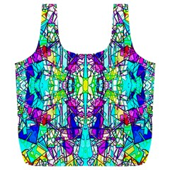 Colorful 60 Full Print Recycle Bag (XL)