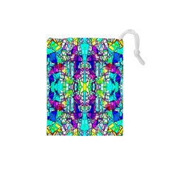 Colorful 60 Drawstring Pouch (Small)