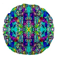Colorful 60 Large 18  Premium Flano Round Cushions