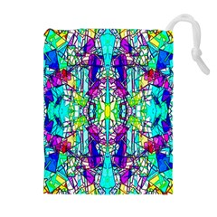 Colorful 60 Drawstring Pouch (XL)