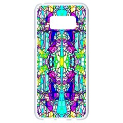 Colorful 60 Samsung Galaxy S8 White Seamless Case