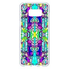 Colorful 60 Samsung Galaxy S8 Plus White Seamless Case