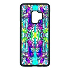 Colorful 60 Samsung Galaxy S9 Seamless Case(Black)