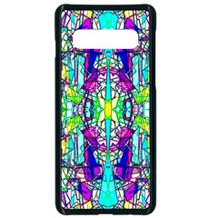 Colorful 60 Samsung Galaxy S10 Seamless Case(Black)
