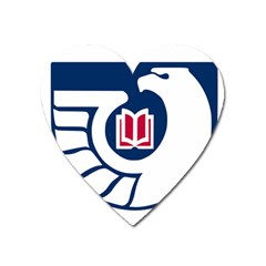 Logo For Federal Depository Library Heart Magnet by abbeyz71