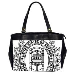 Official Seal Of United States Government Publishing Office Oversize Office Handbag (2 Sides) by abbeyz71