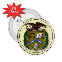 Seal Of United States Government Accountability Office 2 25  Buttons (10 Pack)  by abbeyz71