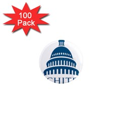 Logo Of United States Architect Of The Capitol 1  Mini Magnets (100 Pack)  by abbeyz71