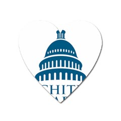 Logo Of United States Architect Of The Capitol Heart Magnet by abbeyz71