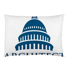 Logo Of United States Architect Of The Capitol Pillow Case by abbeyz71