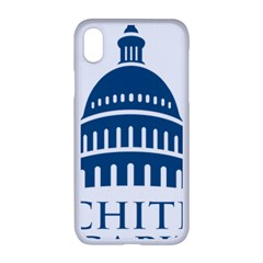Logo Of United States Architect Of The Capitol Iphone Xr Seamless Case (white) by abbeyz71