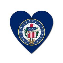 Flag Of The United States Senate Heart Magnet by abbeyz71
