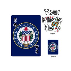 Flag Of The United States Senate Playing Cards 54 Designs (mini) by abbeyz71