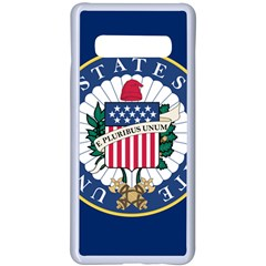 Flag Of The United States Senate Samsung Galaxy S10 Plus Seamless Case(white)