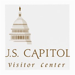 Logo Of U S  Capitol Visitor Center Medium Glasses Cloth by abbeyz71