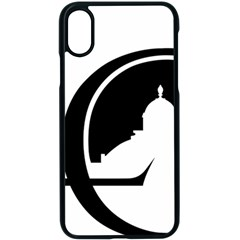 Logo Of Library Of Congress Iphone Xs Seamless Case (black) by abbeyz71