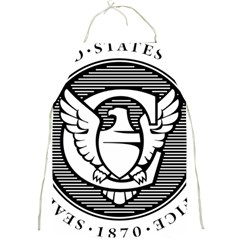 Seal Of United States Copyright Office Full Print Apron by abbeyz71
