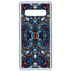 Colorful 64 Samsung Galaxy S10 Seamless Case(white) by ArtworkByPatrick
