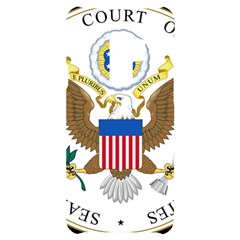 Seal Of Supreme Court Of United States Samsung S9 Plus Black Uv Print Case by abbeyz71