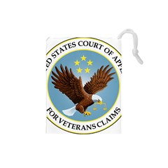 Seal Of United States Court Of Appeals For Veteran Claims Drawstring Pouch (small) by abbeyz71