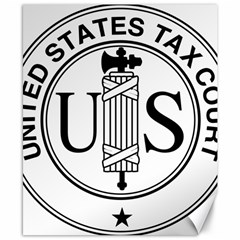 Seal Of United States Tax Court Canvas 8  X 10  by abbeyz71