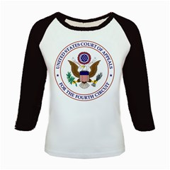 Seal Of United States Court Of Appeals For Fourth Circuit Kids Baseball Jerseys by abbeyz71